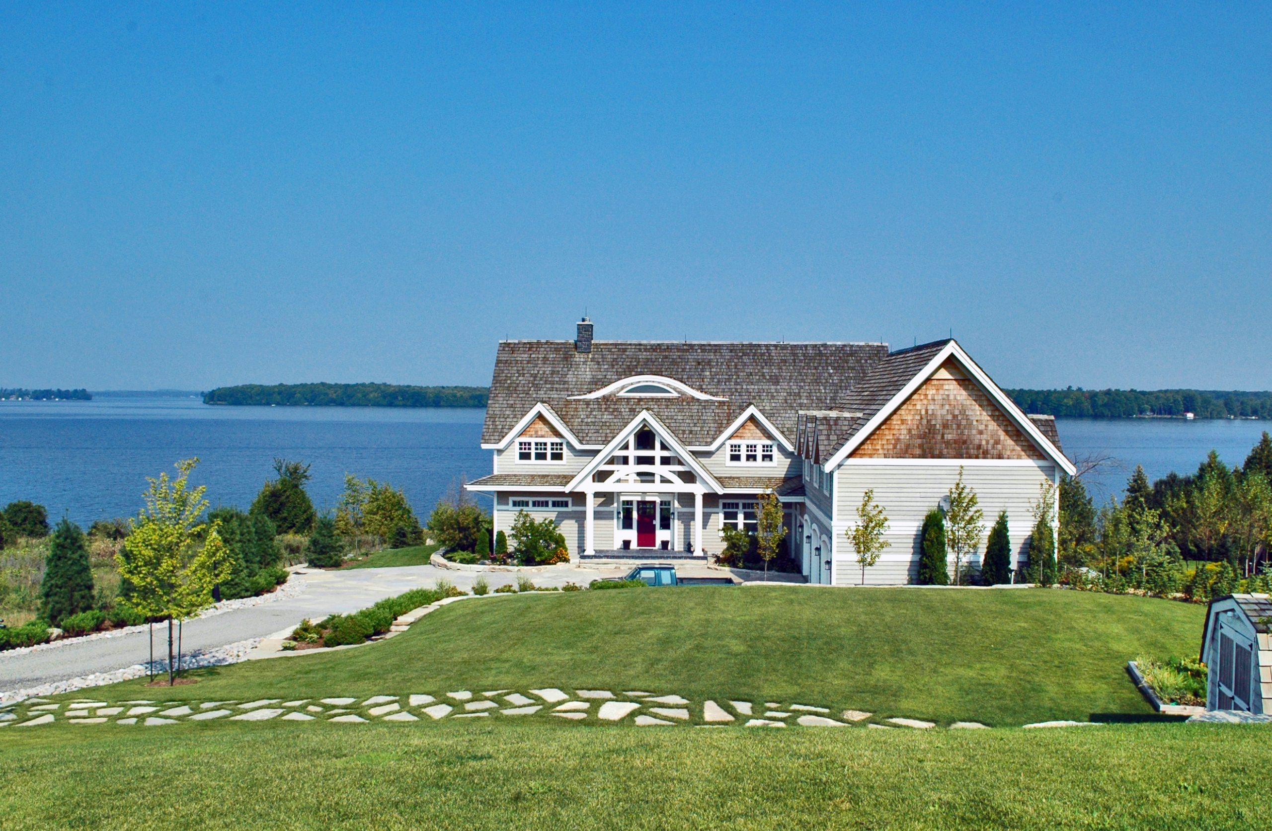 Infinity Fine Homes Lake Front Cottage
